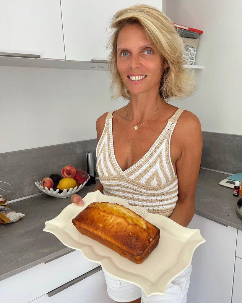 Sylvie Tellier en cuisine