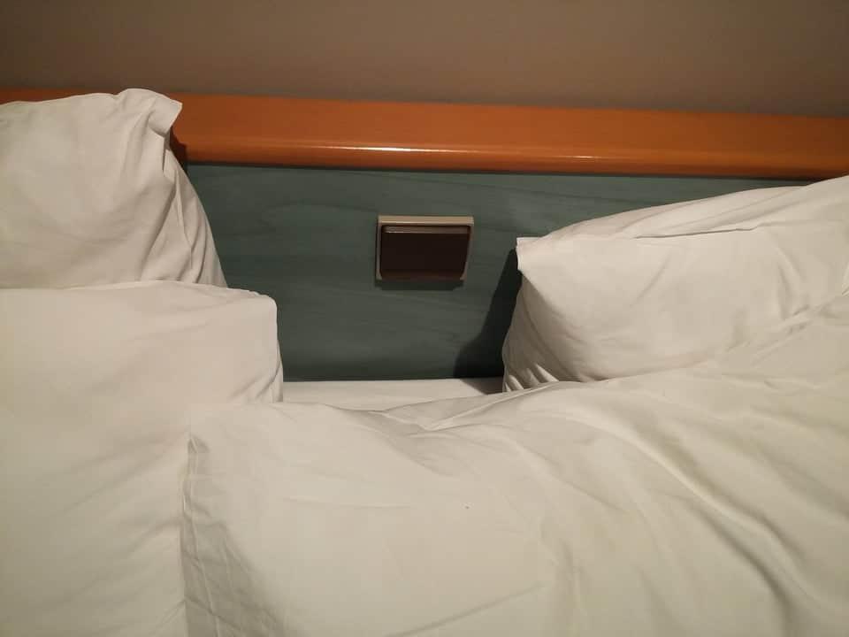 interrupteur de lit d'hôtel
