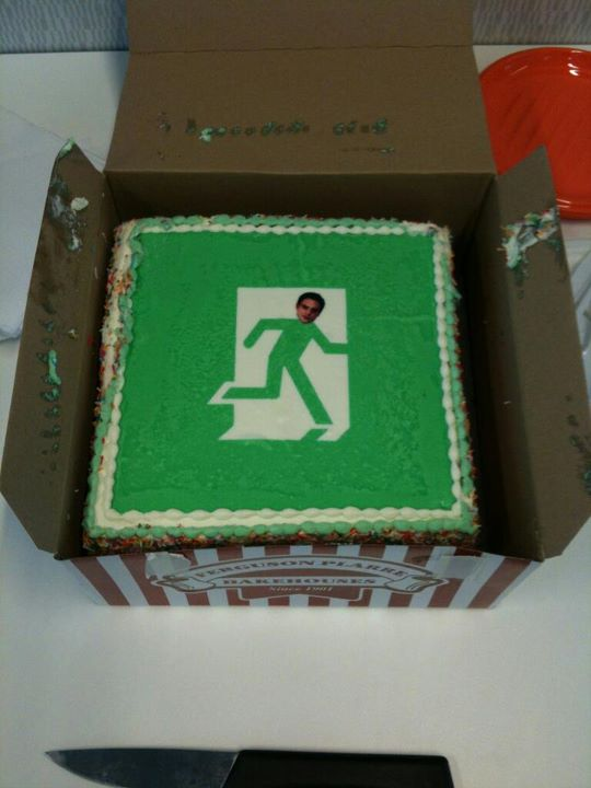 gâteau de démission