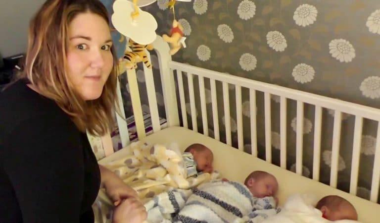 Mère célibataire épuisée, elle demande de l'aide pour s'occuper de ses triplés
