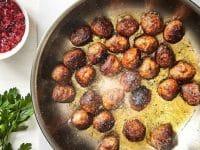 bougie senteur boulettes de viande