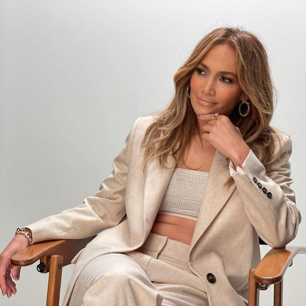 Jennifer Lopez pour un tournage avec Netflix