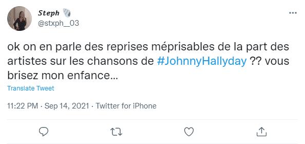 Commentaires sur l'hommage à Johnny Hallyday