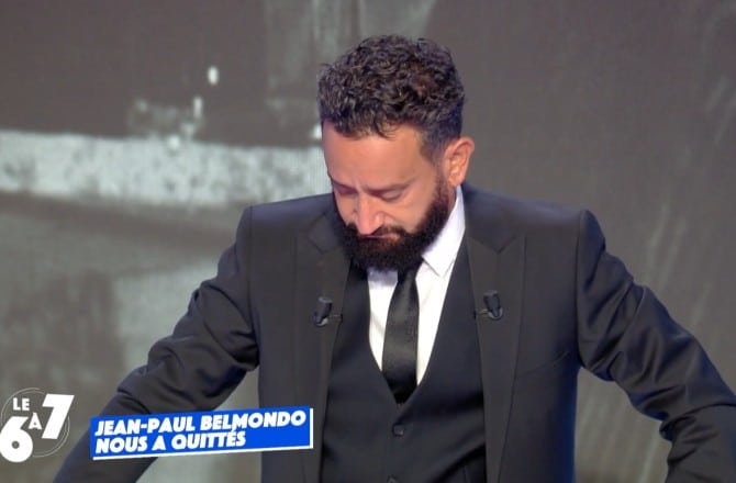 Cyril Hanouna en larmes