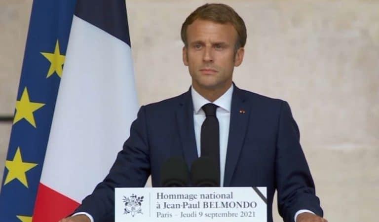 Hommage à Jean-Paul Belmondo : le vibrant discours d'Emmanuel Macron aux Invalides