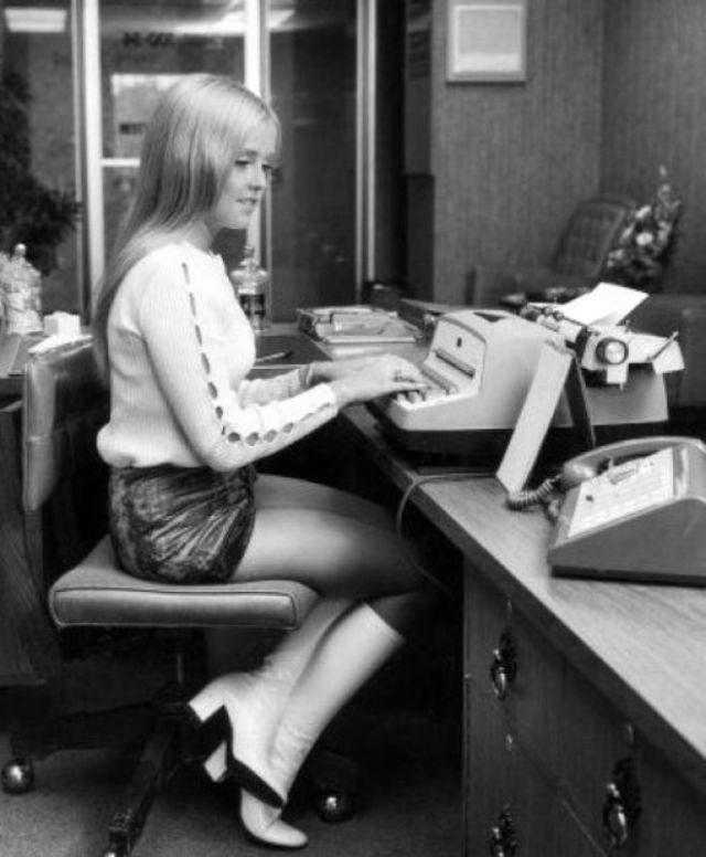 Bottes à la mode des années 60 et 70