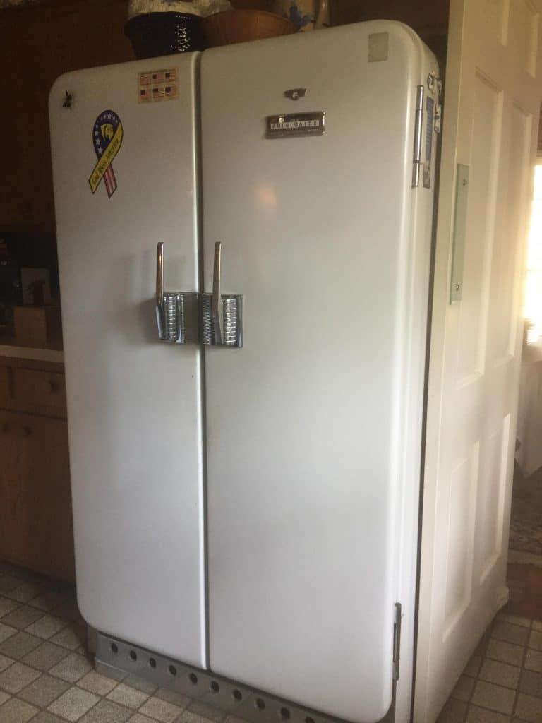 Réfrigérateur de la Seconde Guerre mondiale