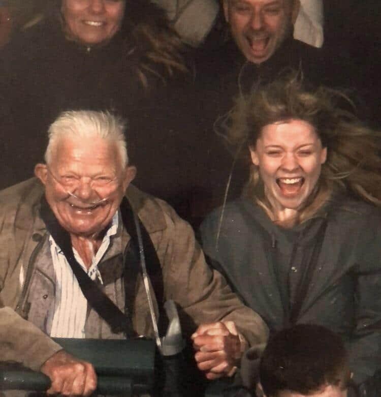 Grand-père de 74 ans