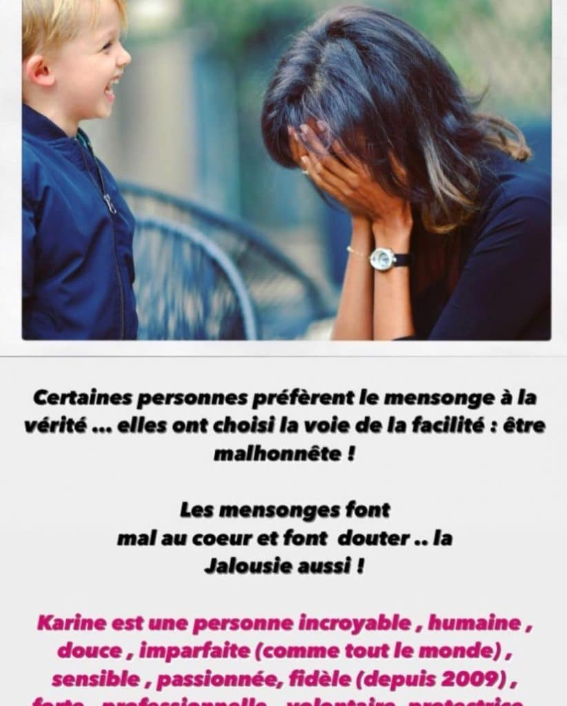 Message Karine Le Marchand