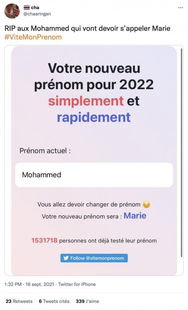 Mohammed ViteMonPrenom