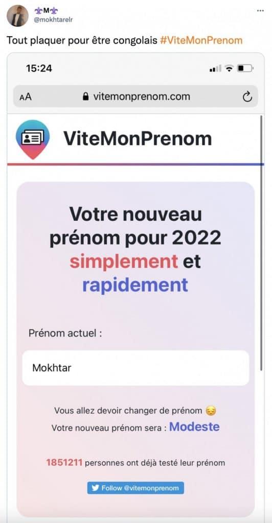 Mokhtar ViteMonPrenom