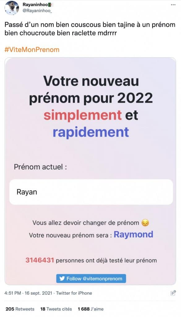Rayan ViteMonPrenom