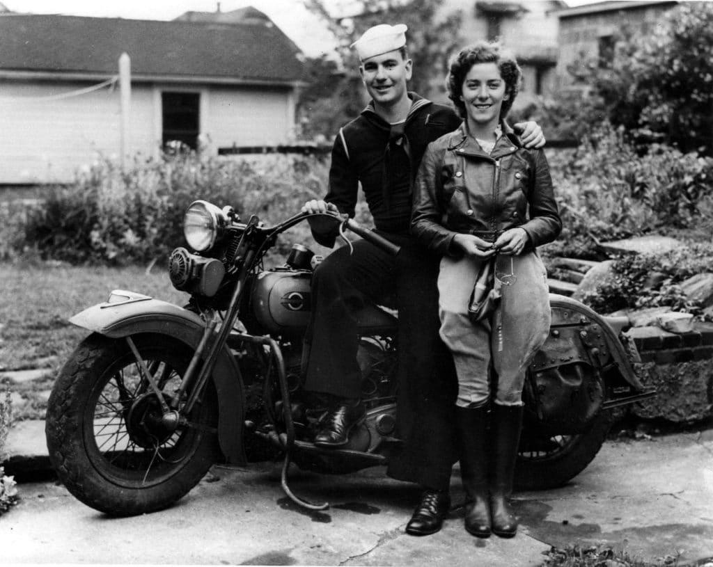 Un couple des années 50
