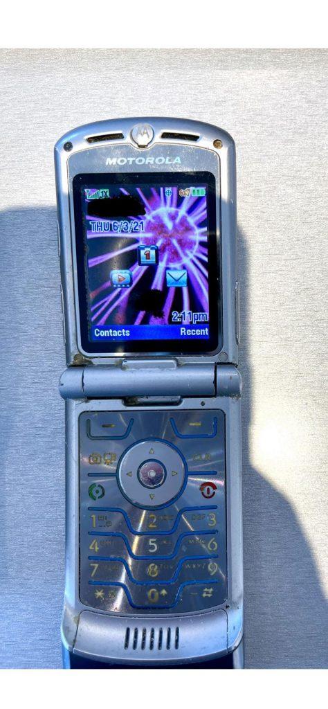 Un vieux Motorola