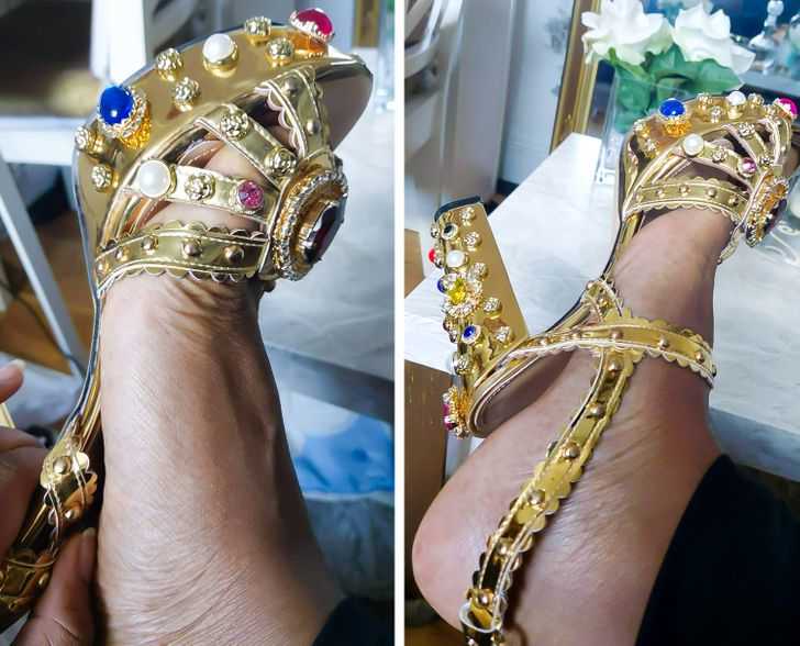 Une chaussure