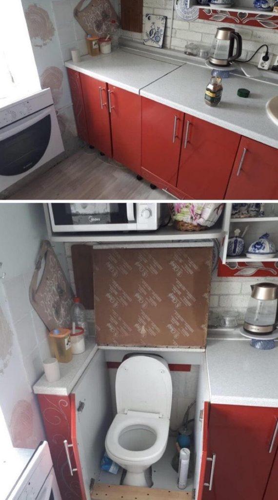 Une cuisine pas comme les autres