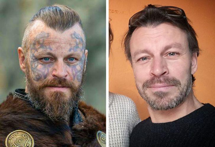 Harald de la série Vikings avec/sans costume