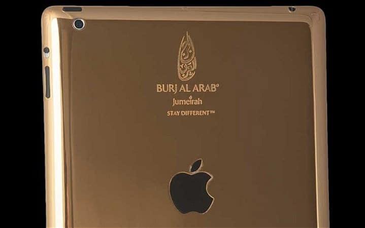 iPad en or 24 caracts à Dubaï