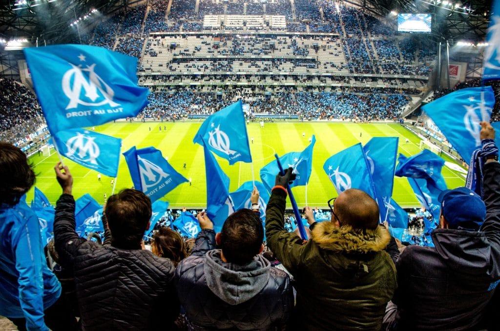 L'équipe de football de Marseille