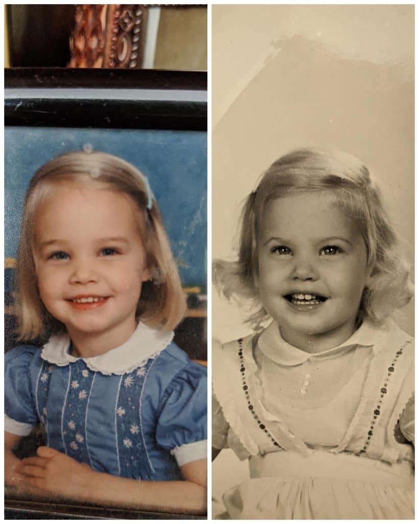 Mère et fille qui se ressemblent