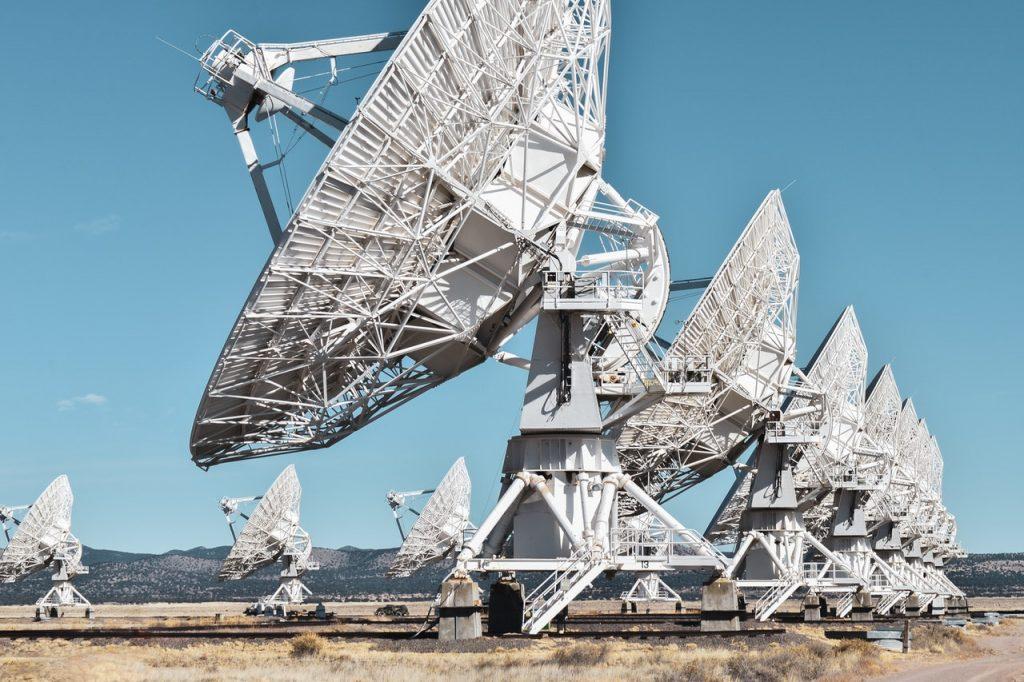 satellites en gros plan
