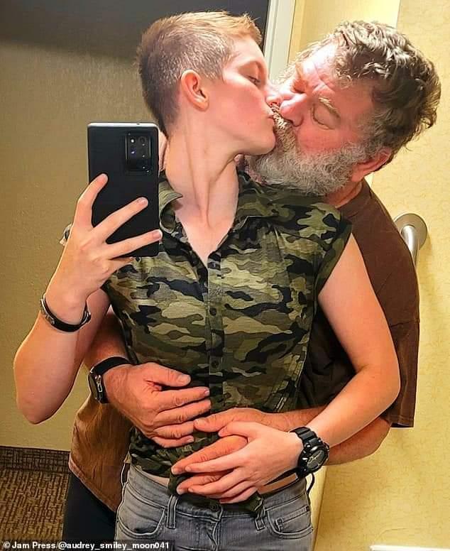 Audrey et son homme