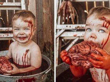 Déguisement halloween enfant zombie