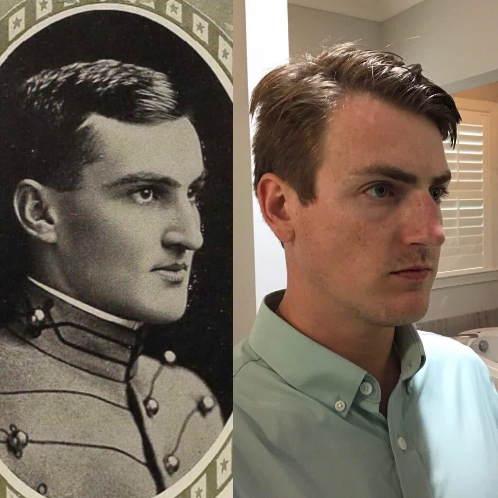 Étrange ressemblance avec son grand-oncle