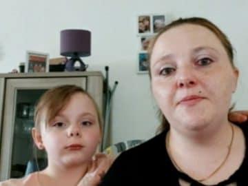 Johanna et sa fille