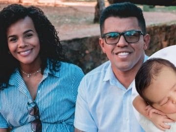 Marcos Davis et sa famille