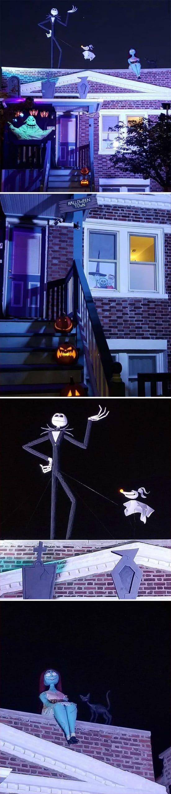 Halloween avec l'Etrange Noel de Monsieur Jack