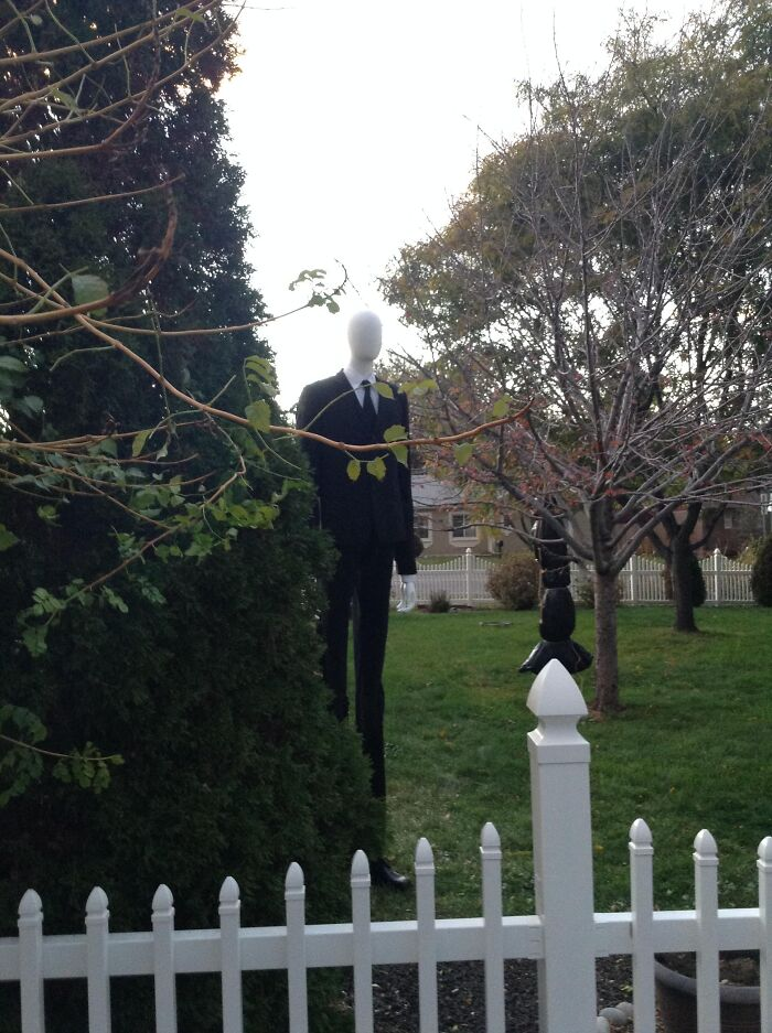 Halloween avec le Slenderman
